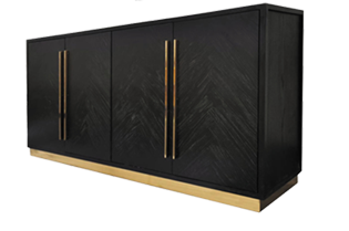 Visgraat Black Dressoir